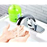 Amazon Com Gothobby Automatic Sensor Faucet Hot Amp Cold