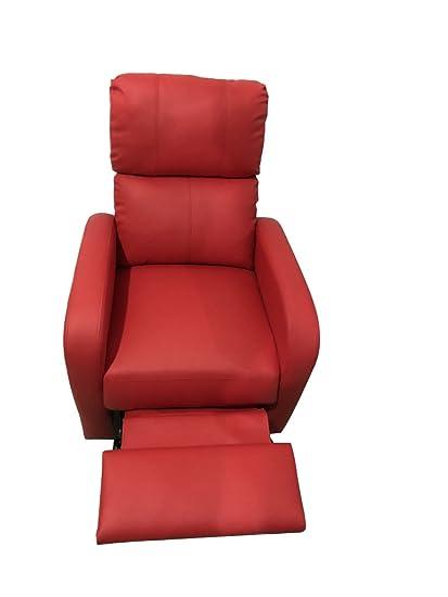 Sillón Relax reclinable, vibra, polipiel calefactable, para ...