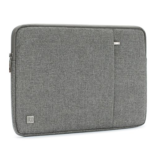 DOMISO 17 Inch Laptop Sleeve Case Water-Resistant Notebook Tablet Protective Skin Cover Briefcase Carrying Bag Pouch for 17.3