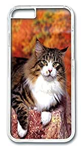 Cat Pose Recommended iPhone Case PC Hard Case Back Cover for Apple iPhone 6 4.7inch