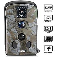Bestok Trail Game Camera HD 12MP Hunting Scounting Deer...