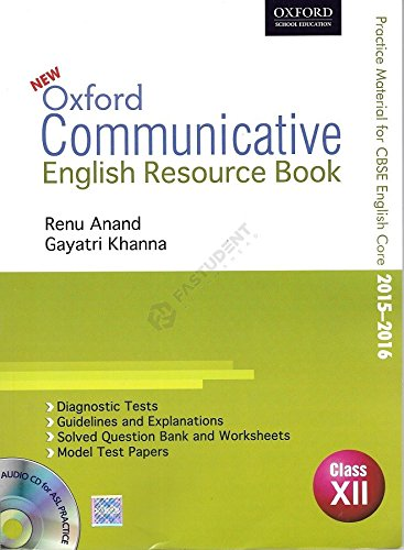 Oxford Communicative English Resource Book Class-12