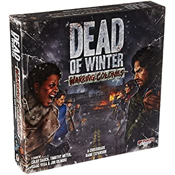Dead of Winter: Warring Colonies expansion set by Plaid Hat Games