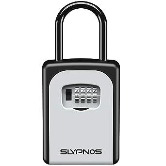 Slypnos - Caja de Cerradura con Llaves, Caja de Seguridad de ...