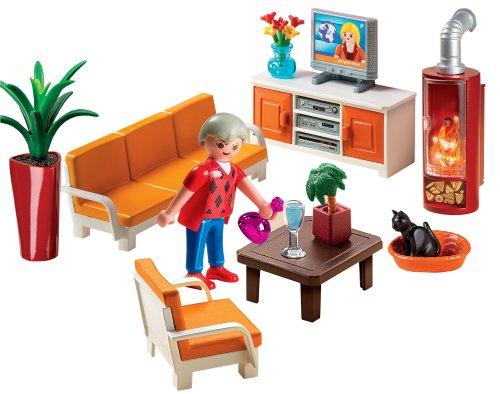 5332 salon avec chemin e de playmobil - Playmobil wohnzimmer 5332 ...