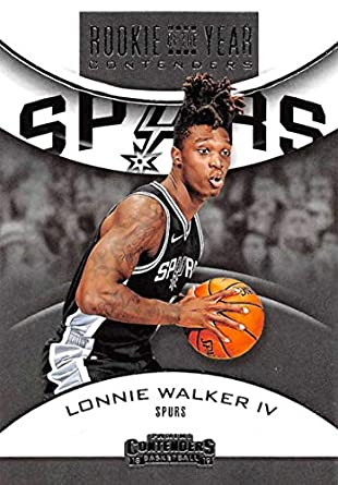 2018-19 Panini Contenders Rookie of the Year Contenders Retail Basketball   9 Lonnie Walker a45ac2f80
