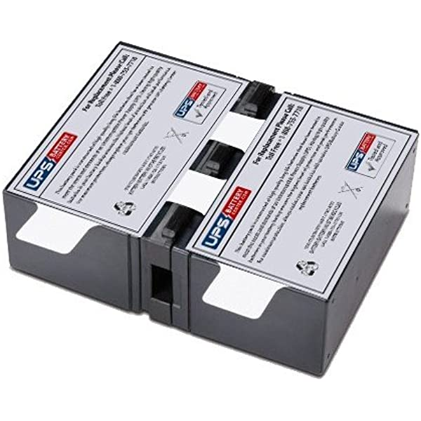 J25B APC AV J Type 1.5kVA Compatible Replacement Battery Cartridge by UPSBatteryCenter