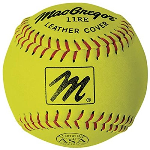Macgregor X44Re Asa Slow Pitch Softball, 11-Inch (One-Dozen)