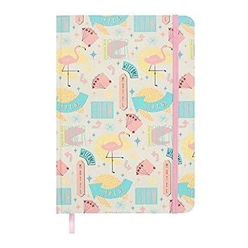 Sueño Americano\' Diseño de Vegas A5 cuaderno con flamencos, color ...