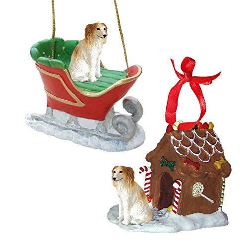Figurine Borzoi (Borzoi Figurine Christmas Ornaments)