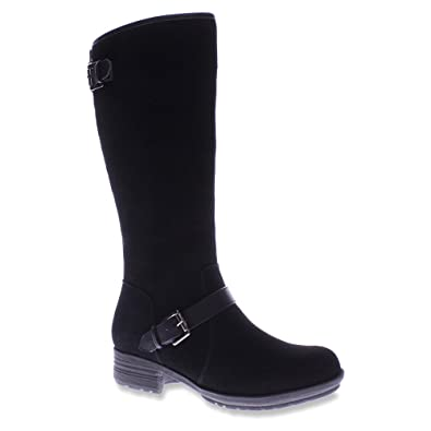 Spring Step Baytree Women's Black Suede Boot 36 ...