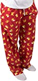 Late Night Snacks Pizza and Beer Unisex Pajama Pants With Pockets - X-Large