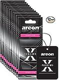 car bubble gum air freshener - Areon X VERSION Design Hanging Car Air Freshener, Bubble Gum Scent (12)