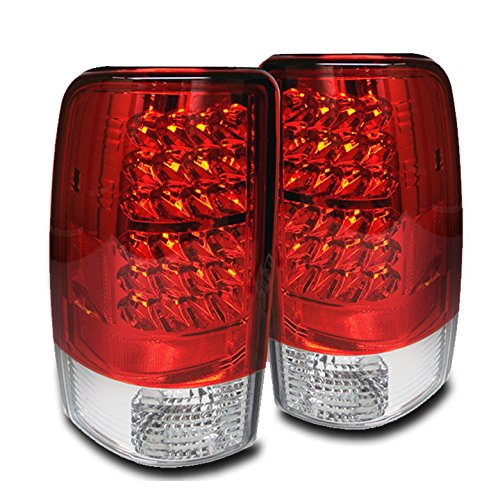 (ZMAUTOPARTS GMC Suburban Tahoe Yukon Denali LS LT LTz LED Tail Brake Lights)