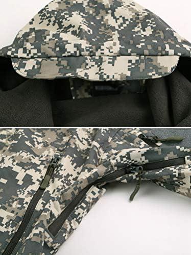 Haobing Hombres Softshell Militar Chaqueta Impermeable Respirable Senderismo Camping Abrigo al Aire Libre T/áctica Chaquetas