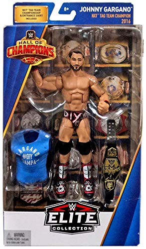 WWE Hall of Champions Elite Collection Johnny Gargano Action