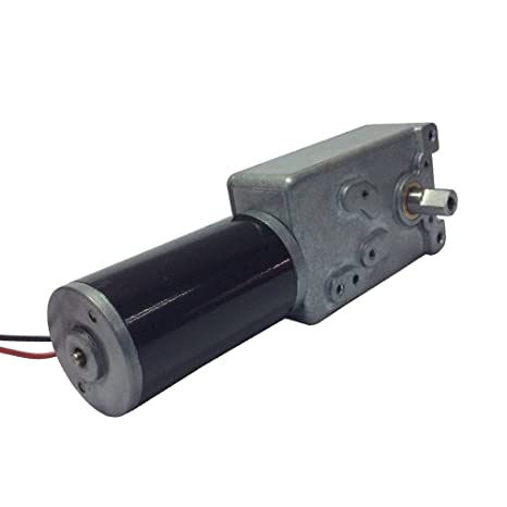 BEMONOC Electric DC Motor 12V Gear Motor Reversible Low Speed 3 RPM High  Torque Out Shaft 8mm