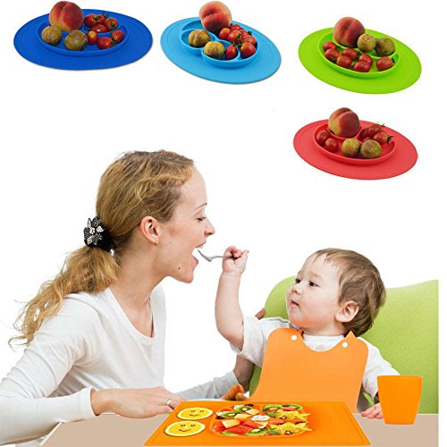 one-piece-silicone-placemat-child-divided-dish-happy-bowl-suction-plates