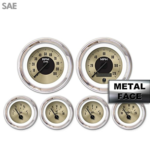 Aurora Instruments 6 Gauge Set Speedo Tacho Tach Oil for sale  Delivered anywhere in USA