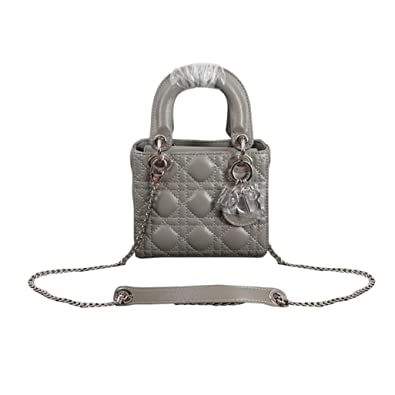 5778c3d3c7a Womens Mini LANA MARKS Princess Diana Handbag Lady Dior Lambskin Bag:  Handbags: Amazon.com