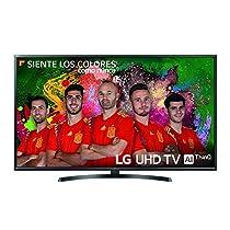 "LG 49UK6470PLC - Smart TV de 49"" (LED, UHD 4K, Inteligencia Artificial, HDR, Wi-Fi), Color Negro"