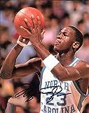 Michael Jordan North Carolina Tarheels Autographed Signed 8 x 10 Photo -- COA - (Near Mint Condition)