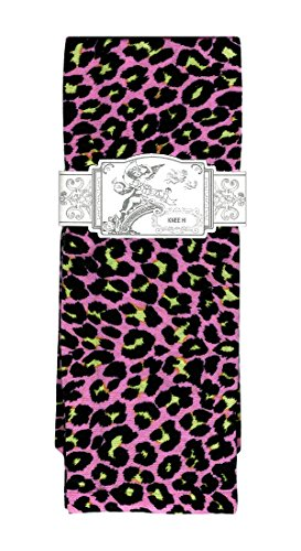 Sox Trot HOT PINK PANTHER - Printed Nylon - Socks Trot Sox