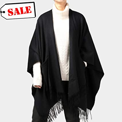 Bufanda Abrigos Mantón Mujer Bufandas Sarong Manta Calentador De Cuello Estola Larga Cabo Cachemira Pura De