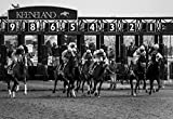 Large Print, Canvas or Unframed, Keeneland Wall Art Photography, Horse Races Decor