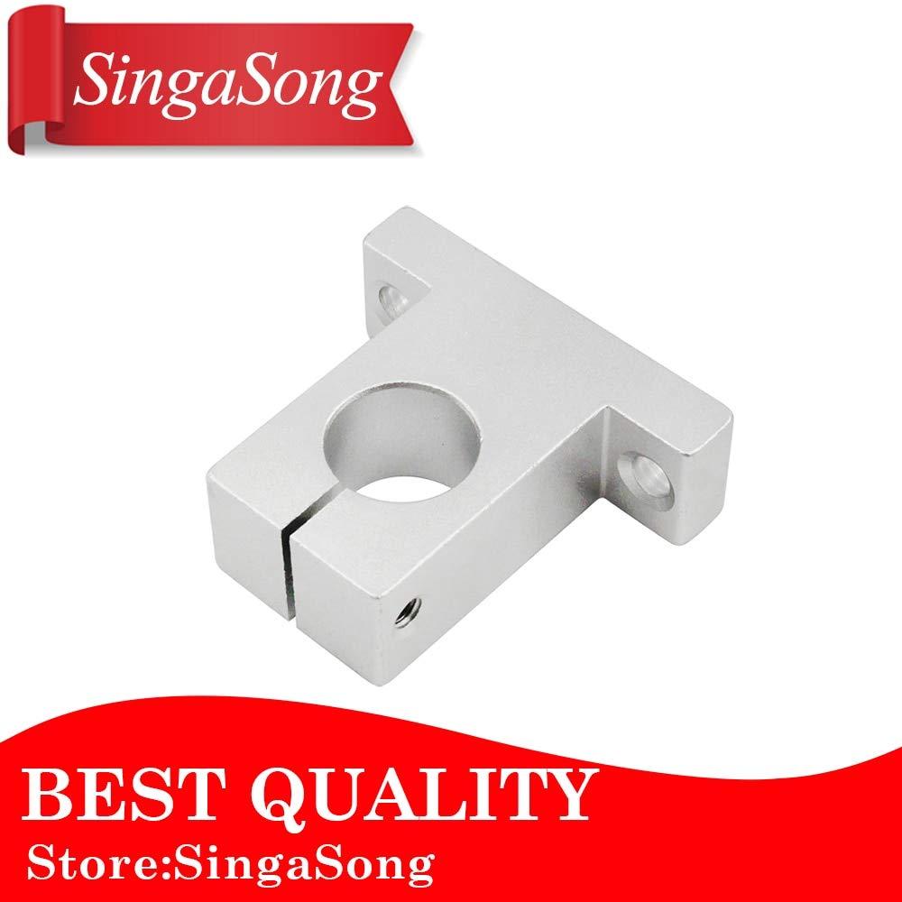 4pcs SK16 16mm Aluminum Linear Rail Shaft Guide Support Bearing SH16A CNC Parts