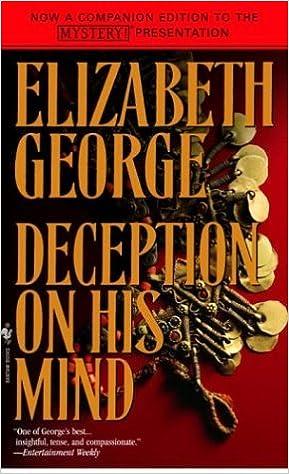 Book Deception on His Mind by Elizabeth George (1998-10-05)