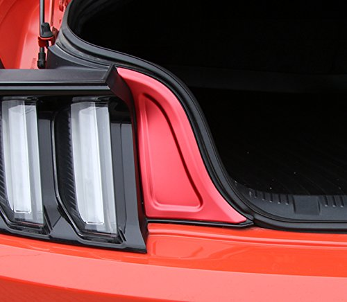 Exterior Accessories Red For Ford Mustang 2015 2016 2017