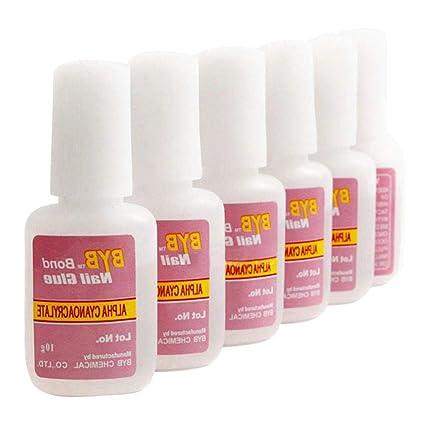 Pegamento para uñas, pegamento de uñas superfuerte, adhesivo con ...