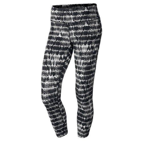 Nike Dri-Fit Printed Epic Run Tight (XL, Black/White)