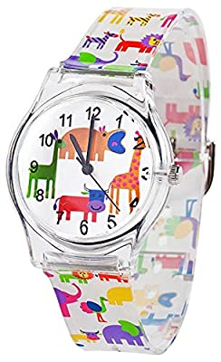 Tonnier Watches Resin Super Soft Band Student Watches for Teenagers Young Girls Starry by Tonnier