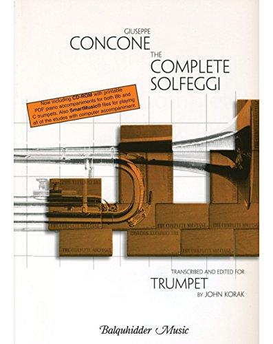 Carl Fischer Complete Solfeggi for Trumpet Book -