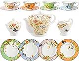 Aynsley Cottage Garden 15 Piece Tea Set (Mixed Colours)