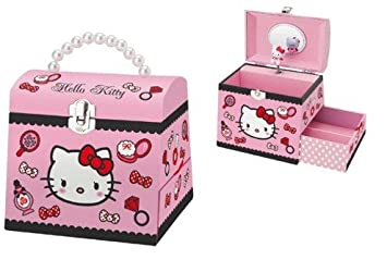 f4bc52fac Image Unavailable. Image not available for. Colour: Hello Kitty Musical  Jewellery Box: Cosmetics
