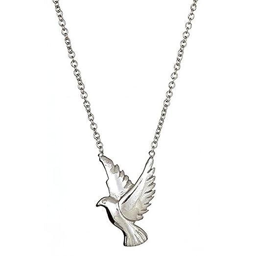 Amazon sterling silver dove pendant jewelry sterling silver dove pendant mozeypictures Images