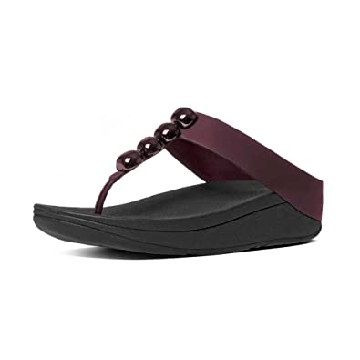 New Products Fitflop Barrio Thong Sandals Womens Black Online Shopping