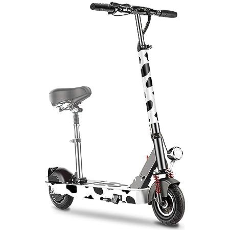 scooter Ligera Plegable Eléctrico Asiento Desmontable Adulto ...