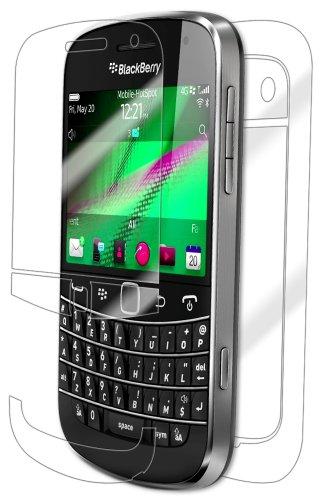 BlackBerry Bold 9900 Screen Protector, IQ Shield LiQuidSkin Full Body Skin + Full Coverage Screen Protector for BlackBerry Bold 9900 HD Clear Anti-Bubble Film - with