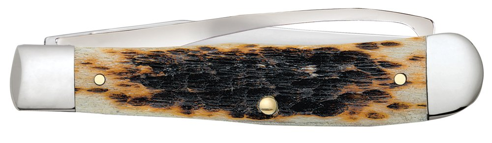 Case Amber Bone Equestrian Pocket Knife by Case (Image #3)