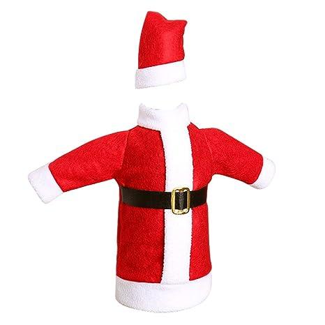 Hosaire 1x Bolsa para Botella,Traje de Navidad Estilo ...