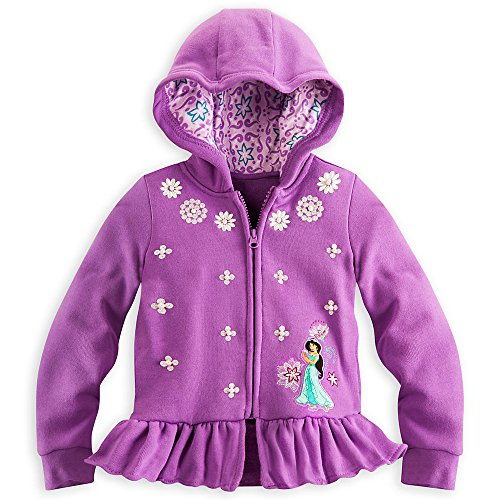 Disney Store Princess Jasmine Hoodie Jacket Size M Medium 7 - 8