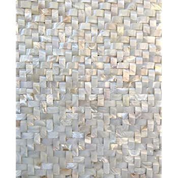 White Mother Of Pearl Tile Shell Tiles12 Quot X 12 Quot Mesh