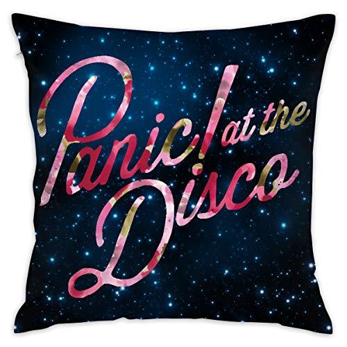 Gltiosr Panic at The Disco Throw Pillow Cover