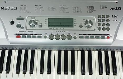 Medeli M12 - Teclado MIDI (Botones, DC, LCD): Amazon.es: Instrumentos musicales