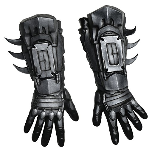 Delux (Adult Batman Costumes Gloves)