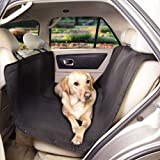 Guardian Gear Classic Hammock Car Seat Covers — Protective Car Seat Covers for traveling with Dogs, Black